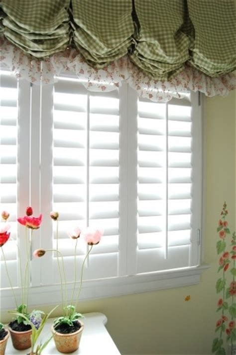 balloon valances for bedroom shutters with balloon shade valance home pinterest
