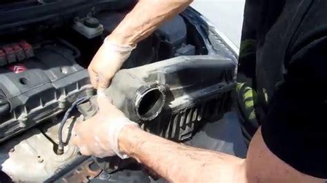 citroen  peugeot  air filter replacement