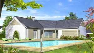 plan de moderne iris maison en u