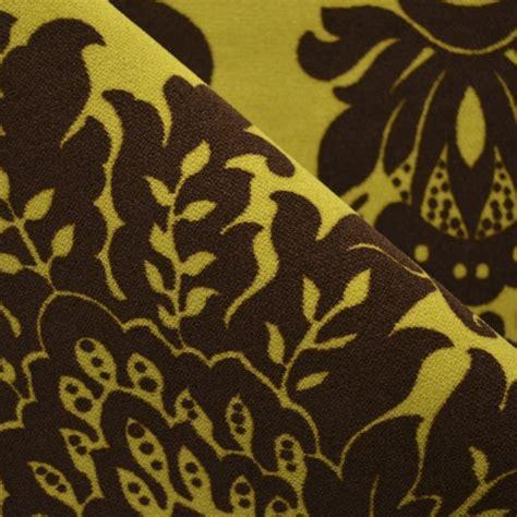 printed velvet upholstery fabric printed velvet fabric yellow baroque
