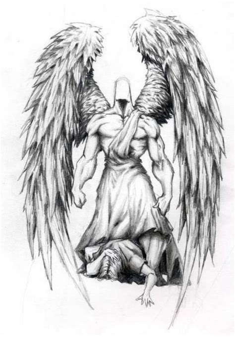 28 angel tattoos on pinterest angels guardian angel