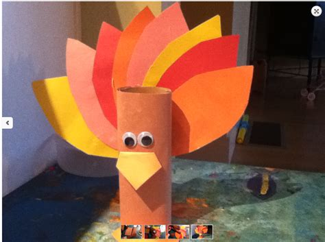 Toilet Paper Turkey Craft - thanksgiving 2013 1 3 crafts and decorations sparkle