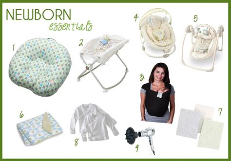 New House Necessities Newborn Essentials