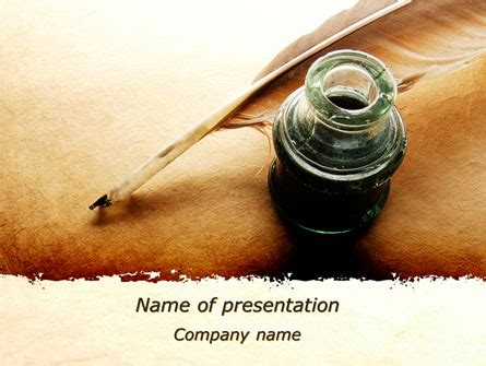 powerpoint themes poetry poetry presentation template for powerpoint and keynote