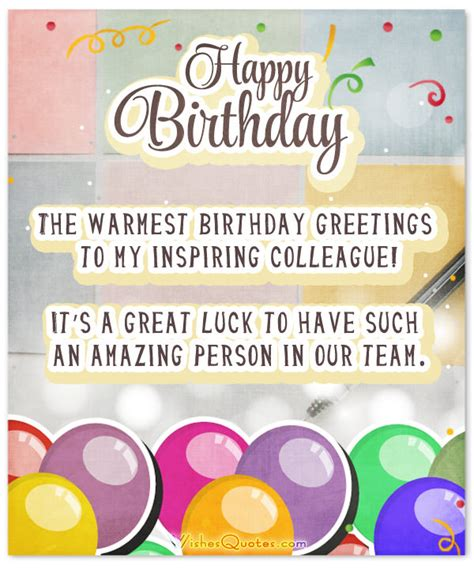 Advance birthday wishes quotes for colleagues m4hsunfo