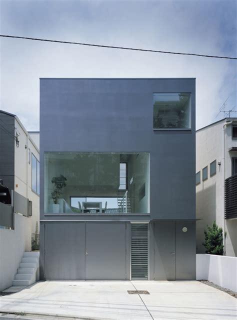 industrial design minimalist house tokyo japan plans
