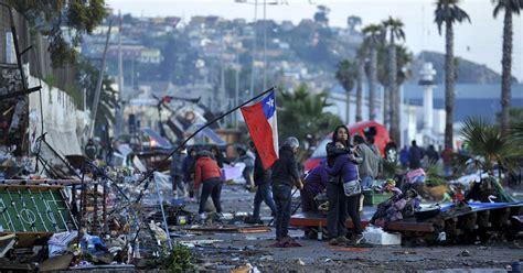 earthquake chile death toll from chile earthquake rises 1 million evacuate