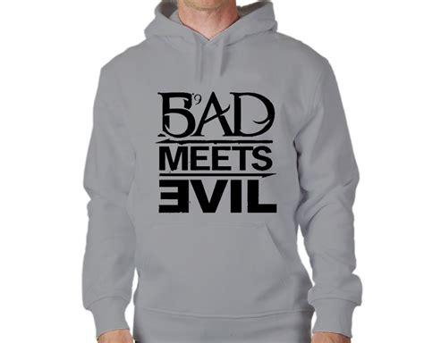 Hoodie Sweater Eminem Keren 187 bad meets evil eminem hoodie