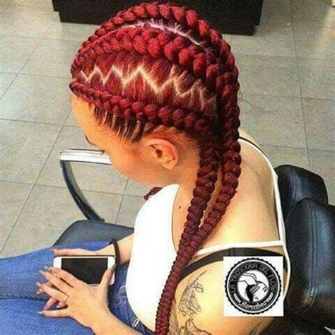 hair colors for box goddess braids 45 photos of rockin red box braids