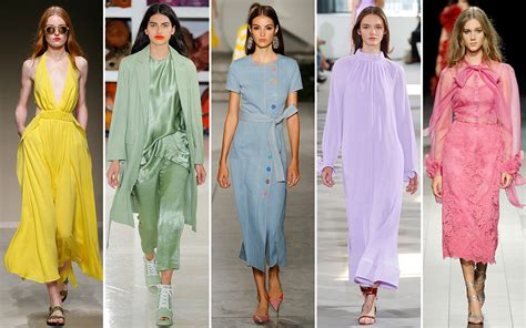 spring summer fashion trends for 2018 top style trends the ten color trends for spring summer 2018