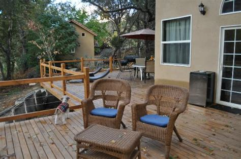 Three Rivers Cabins California by Cabin 9 Deck Picture Of Riverfront Cabins Kaweah General