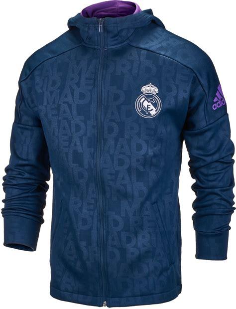 Jaket Casual Navy Realmadrid adidas real madrid zip hoodie real madrid sweatshirts