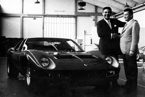 Founder Of Lamborghini Lamborghini Founder Ferruccio To Get His Own Biopic Image