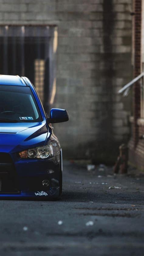 mitsubishi lancer evolution  cars stance tuned wallpaper
