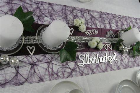 Tischdeko Hochzeit Shop by Tischdeko Silberhochzeit 2 Tischdeko Silberhochzeit Shop