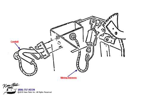 power window parts diagram 1963 corvette power window wiring parts parts