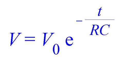 capacitor equation for charge equation capacitor charging images