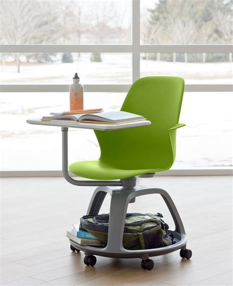 Desk Chairs With Wheels Design Ideas The Steelcase Node Desk