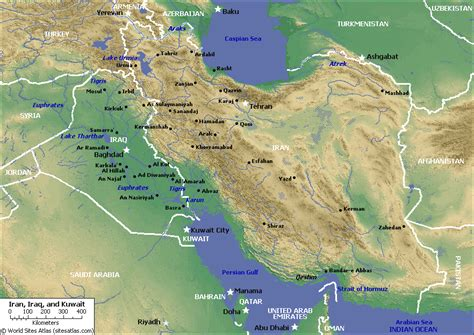 geographical map of iran iran map physical map pictures