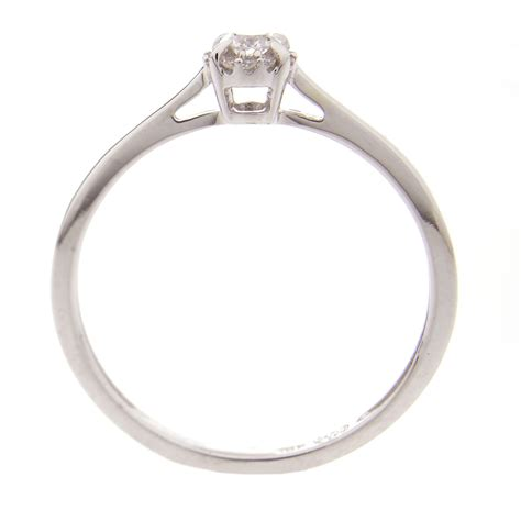 Comptoir Du Diamant by Comptoir Du Diamant Bague En Or Avec Diamant Brandalley