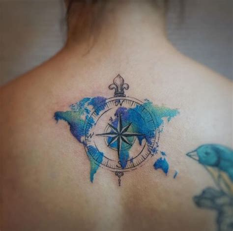 watercolor ocean tattoo www imgkid com the image kid