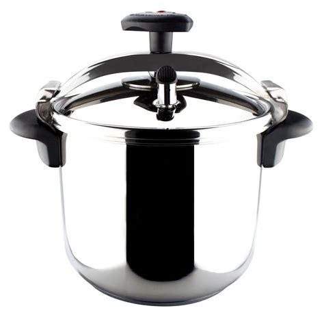 pressure cooking on pressure cooker presto 6 quart pressure cooker stainless steel walmart