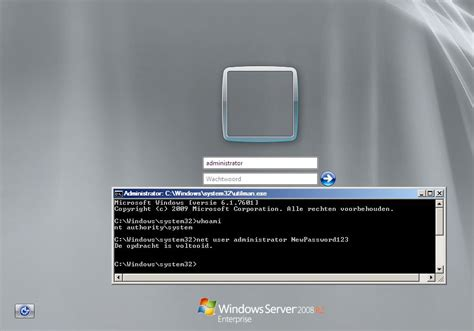 windows 2008 r2 password reset how to bypass authentication on windows server 2008 r2