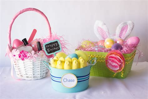diy easter gifts 3 diy easter baskets for under 15 thegoodstuff