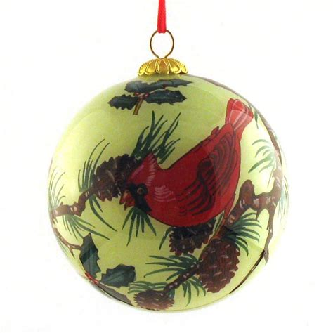 amazon com raiders ornaments festive cardinal birds ornaments