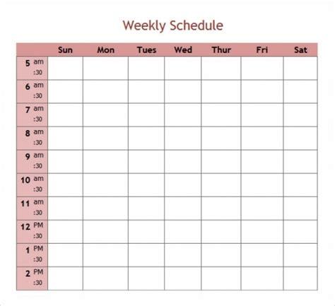 free 5 day calendar template 5 day week blank calendar printable printable calendar