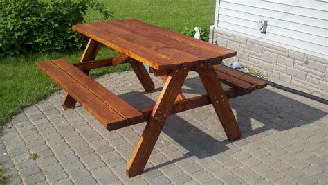 Build Your Own Picnic Table build your own picnic table
