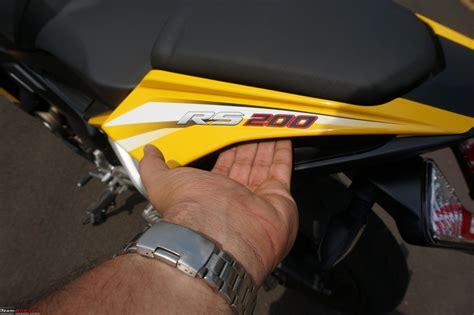 Single Seat R15 Cover Jok R15 Cover Seat R15 team bhp report pics bajaj pulsar rs200 ridden