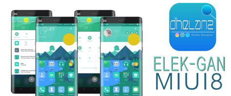 xiaomi themes download free elek gan a flat and clean miui 8 theme for every xiaomi
