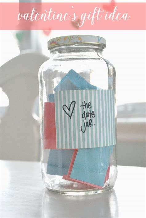 no cost gift ideas how to make a date jar for s day the sweetest digs