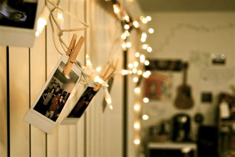 how to hang polaroid lights polaroid pics pegged to lights room inspo polaroid and fairies
