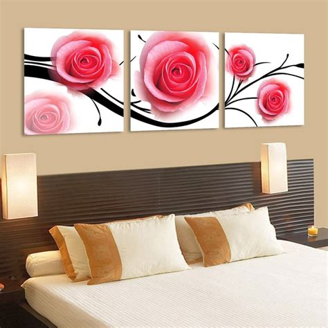 20 Glamorous Pink And Black Wall D 233 Cor Art Wall Decoration Painting