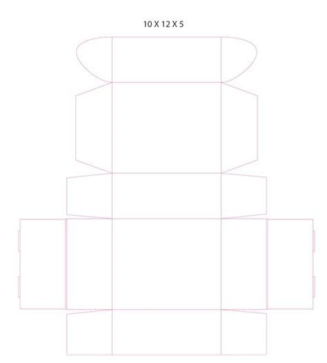 10 x 12 x 5 suitcase template free party travel