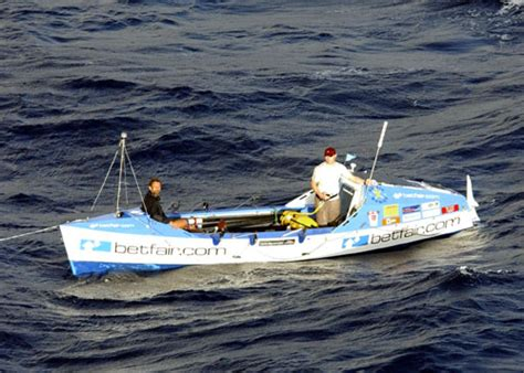 hmas newcastle rescues ocean rowing boat transventure - Ocean Rowing Boats For Sale Australia