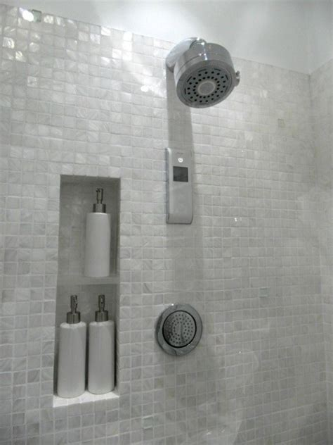 white mosaic bathroom pure white freshwater mother of pearl mosaic bathroom