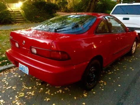 old car owners manuals 1994 acura integra auto manual red 1994 acura integra ls 2d coupe 107k mls 2cyl 1 8l manual trans 4 new tires