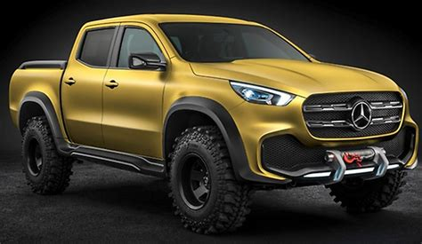 mercedes pickup mercedes benz is making a pickup truck in 2017