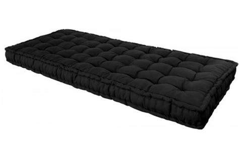 matelas futon 90x190 matelas futon 90x190 cm noir coton mousse 100 coton mara