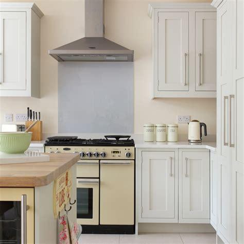 yellow and grey kitchen decorating housetohome co uk yellow and grey classic kitchen ideal home