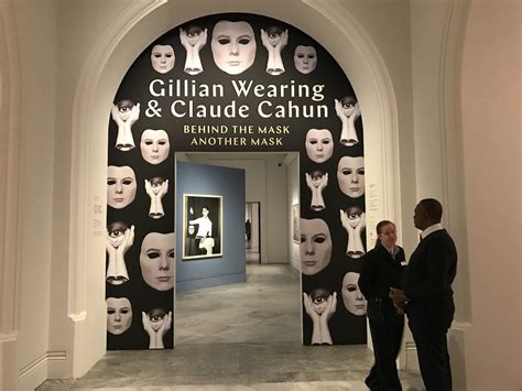 gillian wearing and claude gillian wearing and claude cahun projections of self national portrait gallery artlyst