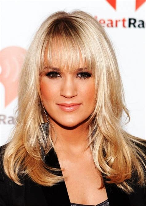 Carrie Underwood Hairstyle by Carrie Underwood Hairstyles Behairstyles