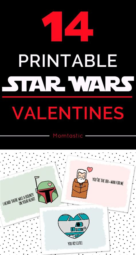 printable star trek valentines 14 free printable star wars valentines for kids