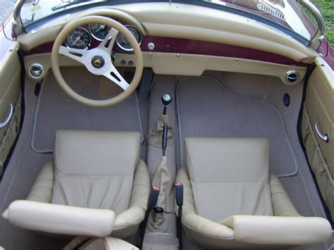 porsche speedster interior 1956 porsche 356 speedster re creation 43308