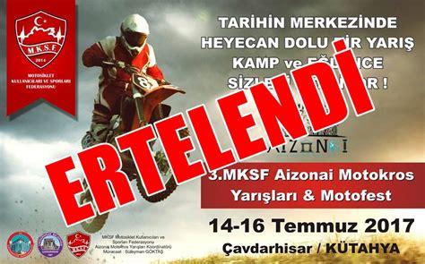 mksf aizanoi motokros yarislari motofest cavdarhisar