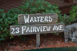 home address signs home address sign welcome sign personalized gift yard