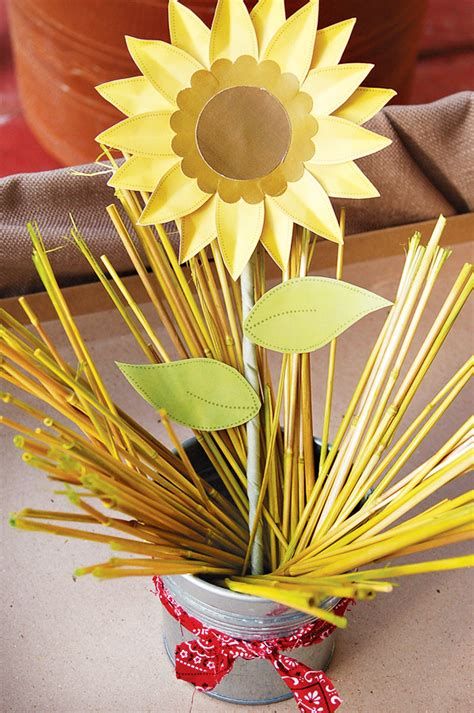 paper sunflower tutorial diy tutorial beautiful paper sunflowers hostess with